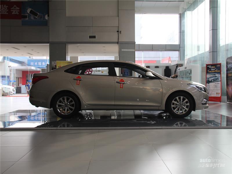 名图是北京现代在中级车市场继索纳塔八之后