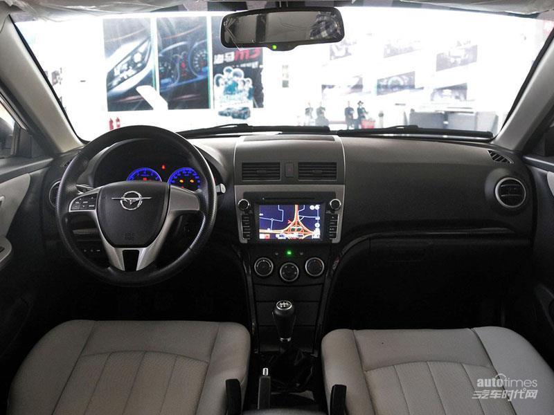 海马汽车 福美来 2014款 三厢 1.6L 手动冠军版 内饰图片高清图片