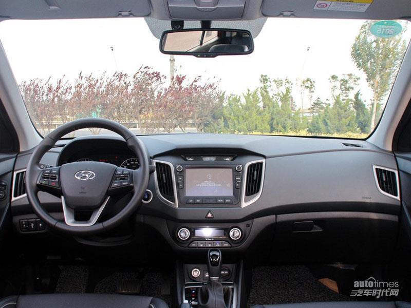 北京现代ix25 2014款 1.6 DLX 两驱自动尊贵型