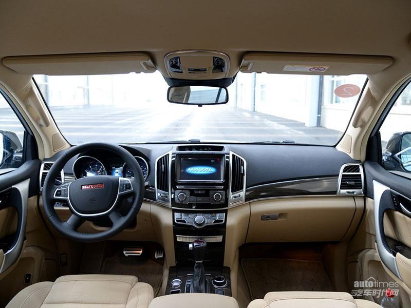 长城汽车 哈弗H9 2015款 2.0T 自动标准型 7座 内饰图片高清图片