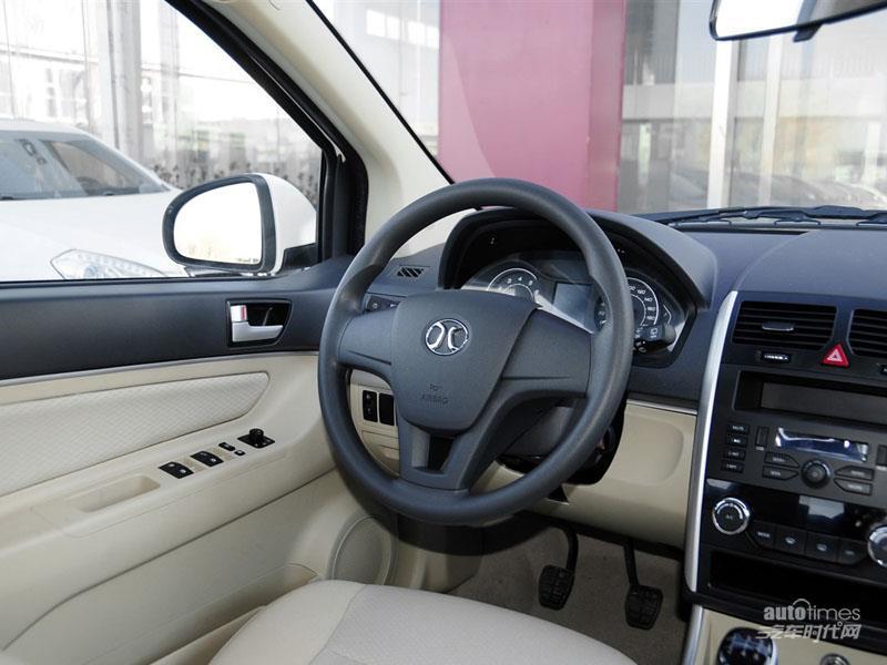 北京汽车 绅宝D20 2015款 两厢 1.3L 乐天手动版 内饰图片高清图片