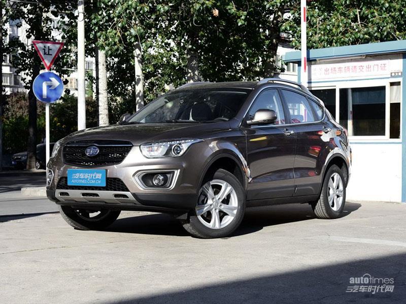 郑州奔腾x80最高优惠1.2万 现车销售