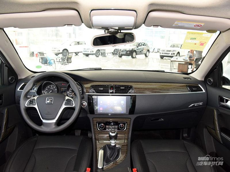 众泰汽车 众泰T600 2016款 1.5T 手动尊贵型 内饰图片高清图片
