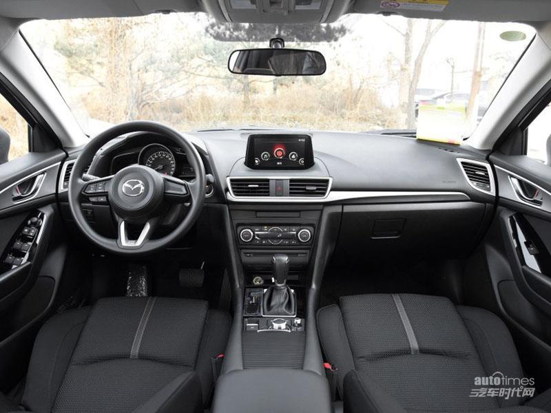 昂克赛拉 2017款 三厢 1.5L AT 豪华型