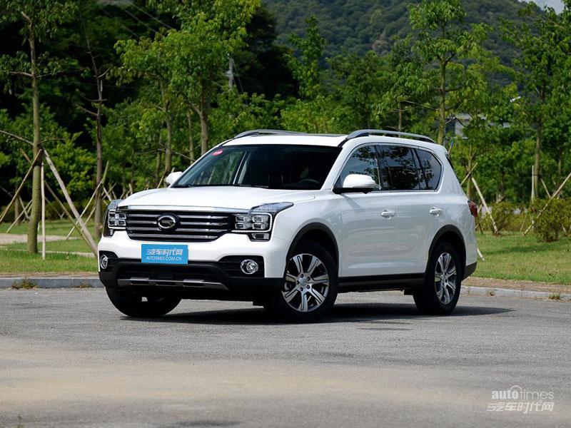 传祺GS7 2017款 320T 豪华智联版
